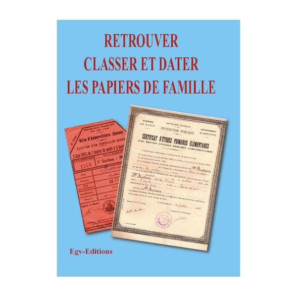 papiers et documents à garder