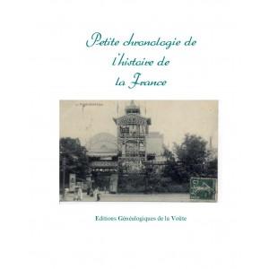 Petite chronologie de l'histoire de la France